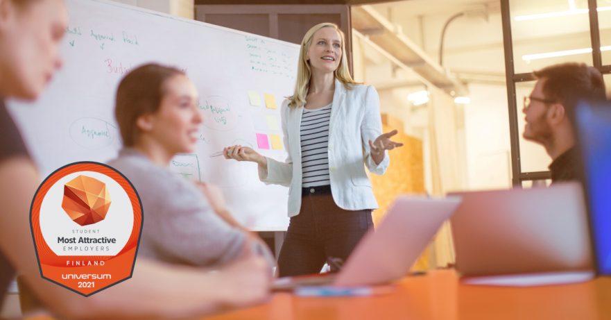 Mitä opiskelijat haluavat tulevaisuuden työnantajaltaan?