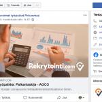 Avoimet maakuntakohtaiset työpaikat Facebookissa