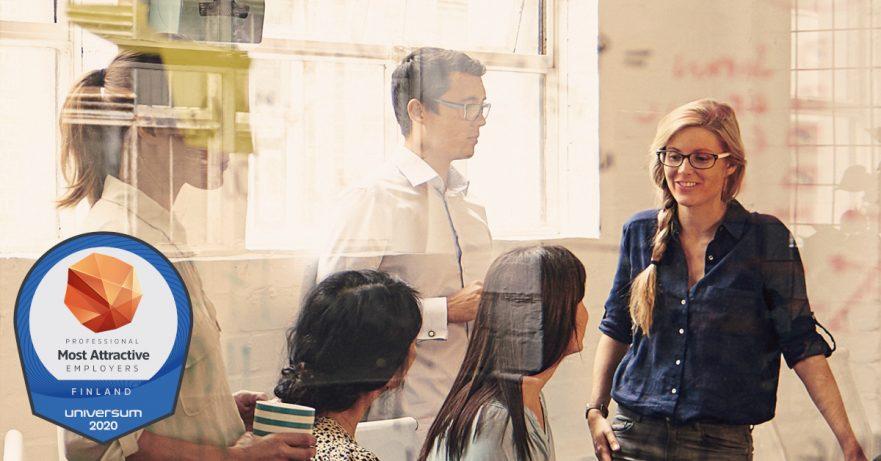 Ihanteellisimmat työnantajat 2020 ammattilaisten näkökulmasta