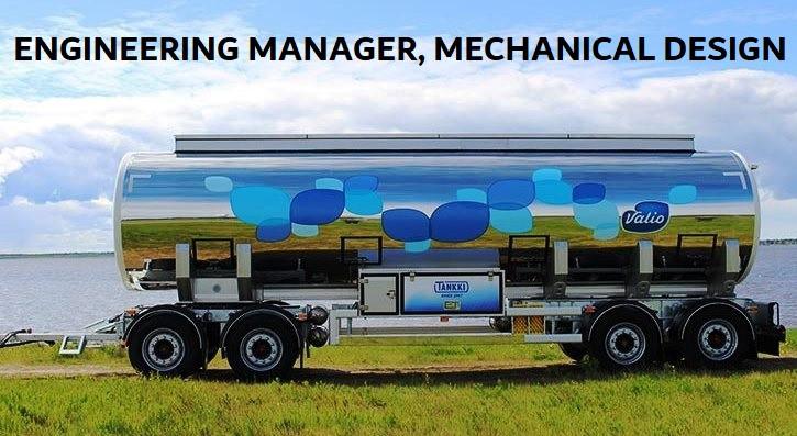 Tankki Oy - Engineering Manager, mechanical design