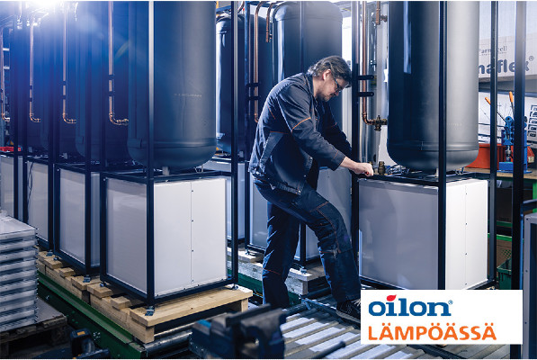 Oilon Group Oy - Kokoonpanotyöntekijöitä (Lapua)